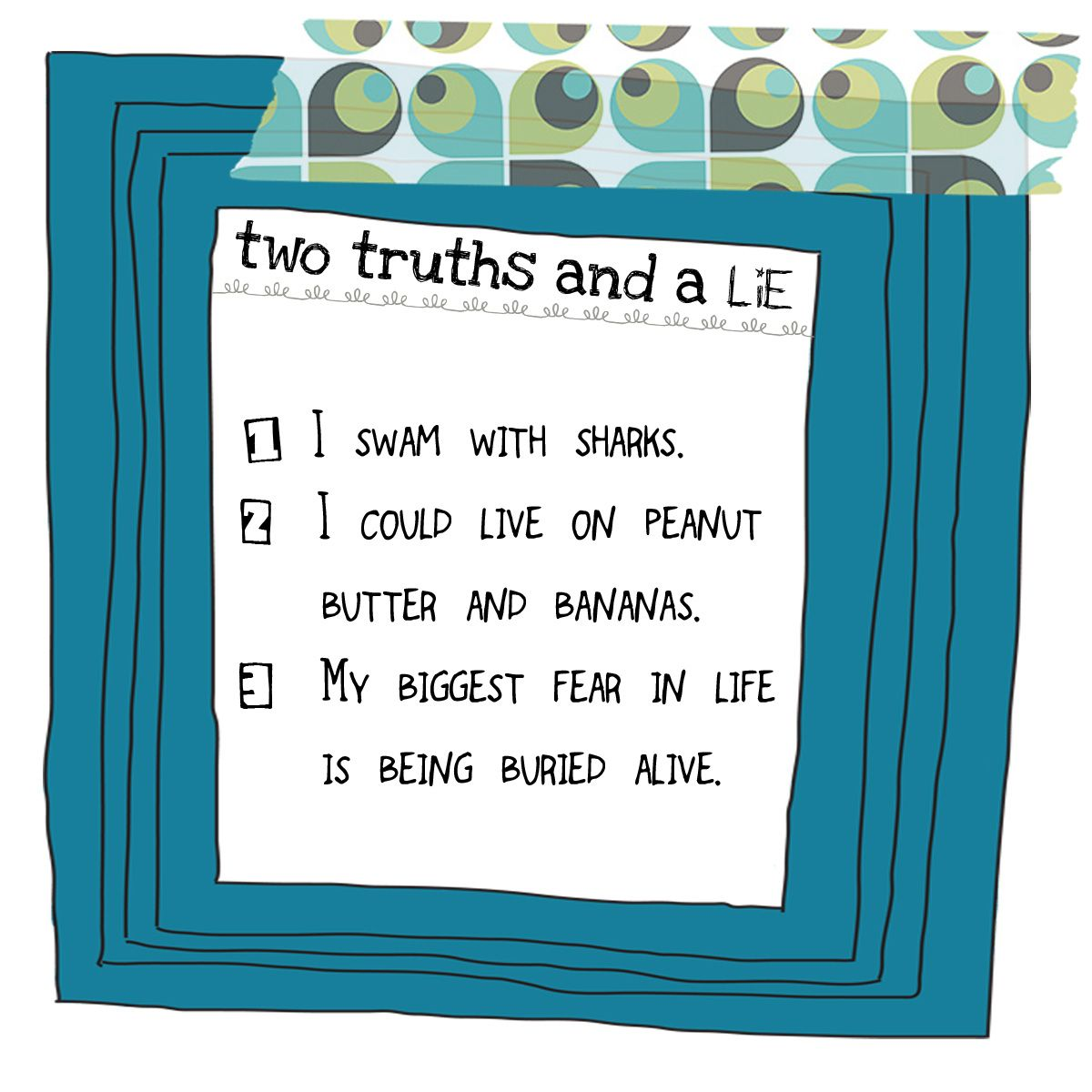 Two Truths And A Lie Activities Students And French Grammar