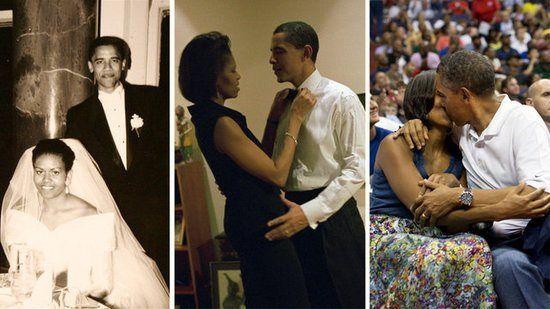 Barack And Michelle Obama Wedding