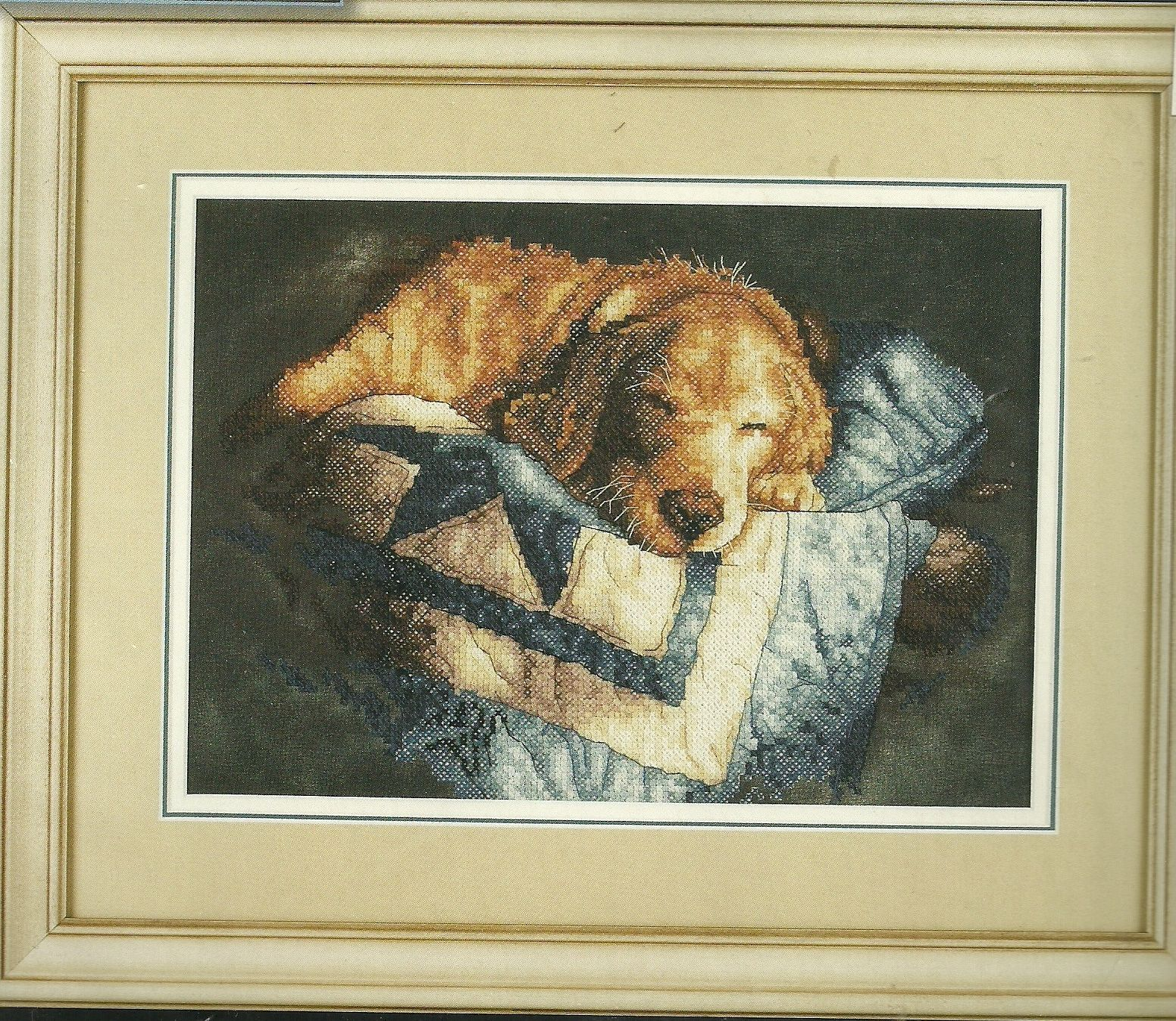 Dimensions 3220 Snooze Stamped Cross Stitch Kit