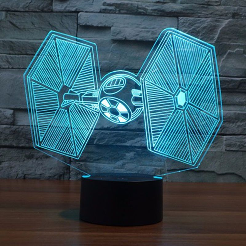 3d Star Wars Led Mood Lamps Bb 8 At At Darth Vader Yoda Storm