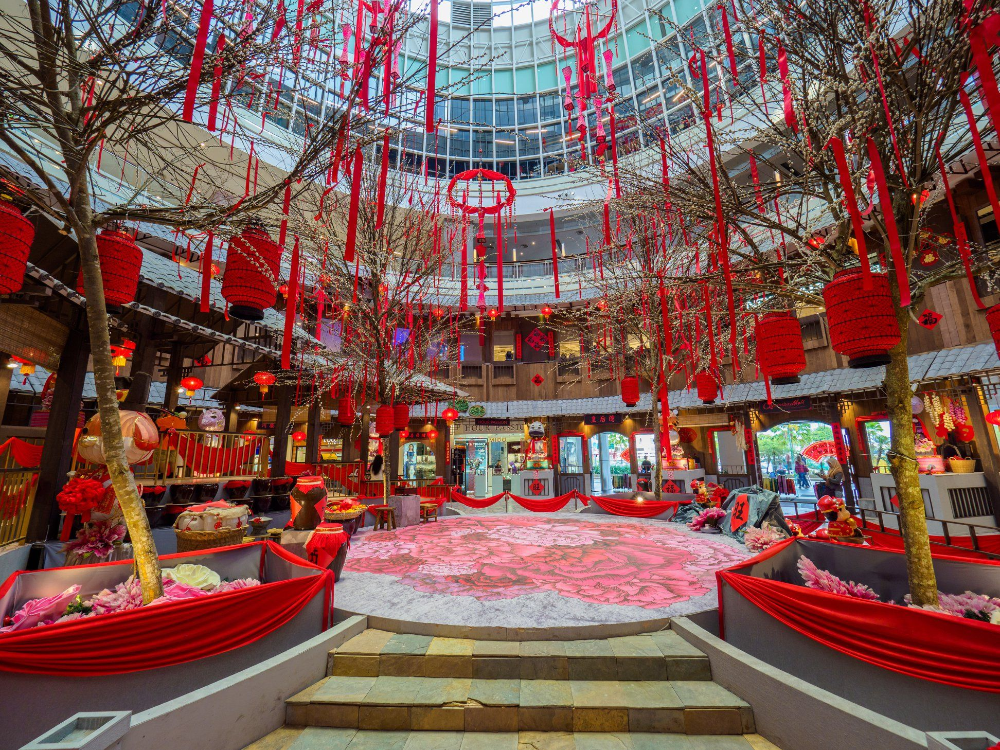 Queensbay Mall_ Lunar New Year2018_3 (With images ...