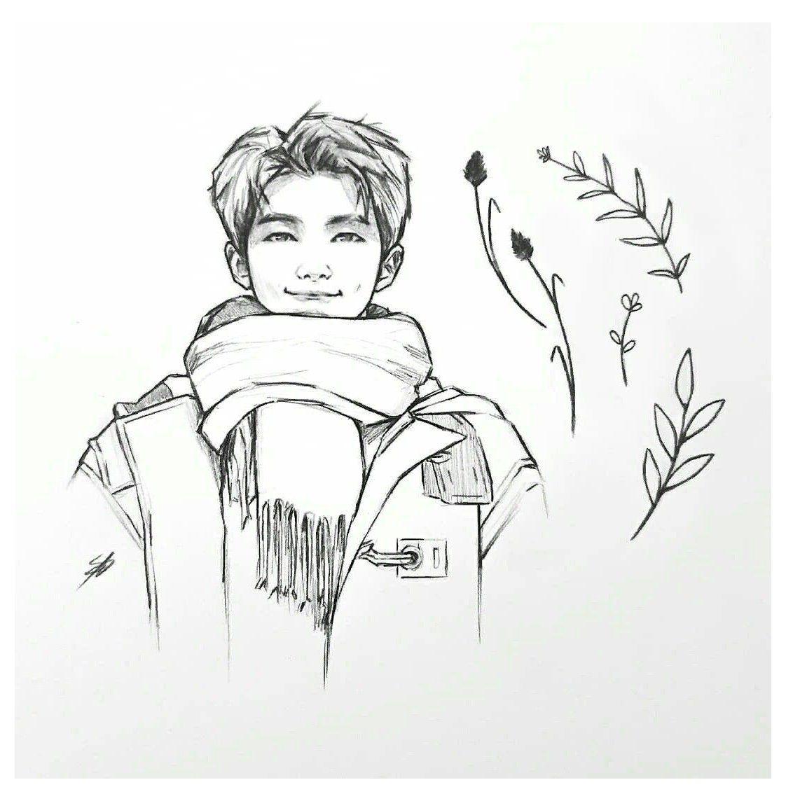 Photo of rm bts drawing