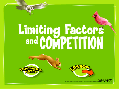Limiting factors and competition - Grade 6 Ecosystems