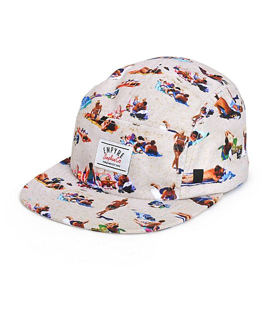e2a02bfb4a47b Empyre Beach Bums 5 Panel Hat