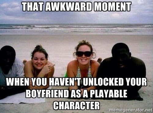 Funny Memes For Your Boyfriend : That awkward moment when you haven t unlocked your boyfriend