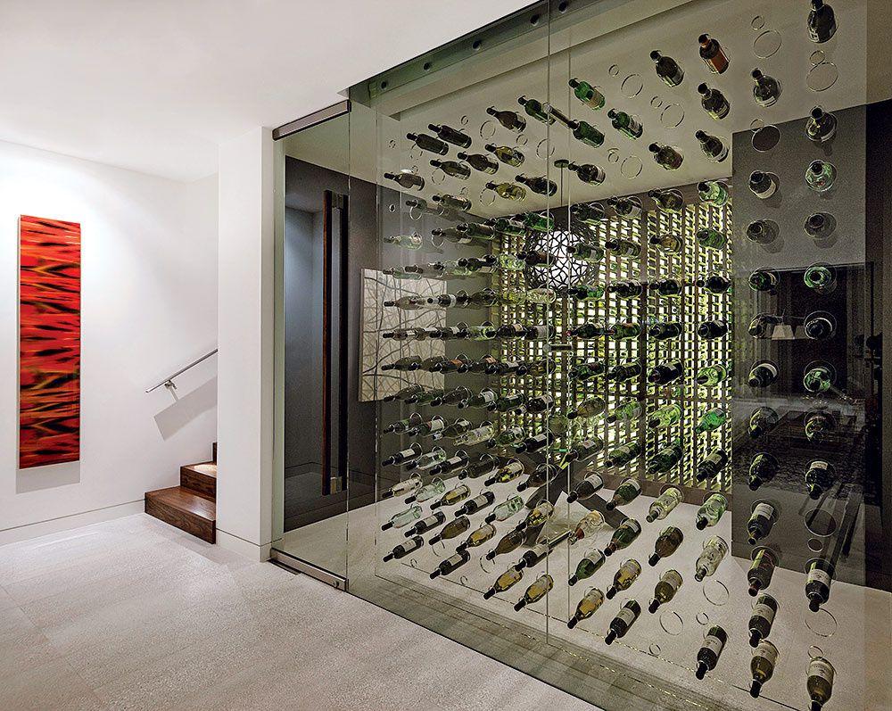 Casa belzberg architects hogar - Cavas de vino para casa ...