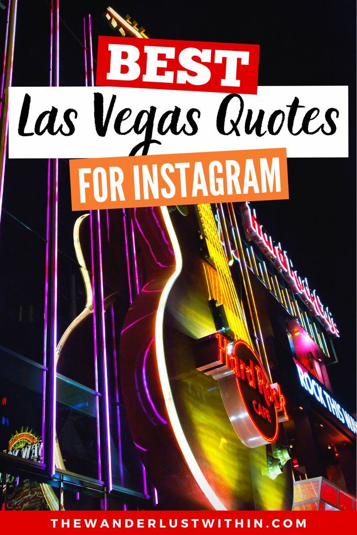 Amazing Las Vegas Captions for Instagram