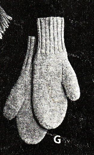 Vintage Knitting Pattern Instructions To Make Mens 1940 S Wwii