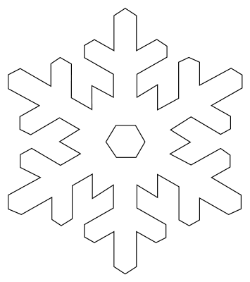 Snowflake Templates Printable Stencils And Patterns Snowflake Template Printable Snowflake Template Paper Snowflake Template