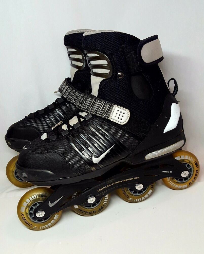 Advertisement Ebay Nike Inline Skates Rollerblades Street Hockey Skates Mens Size 10 Guc