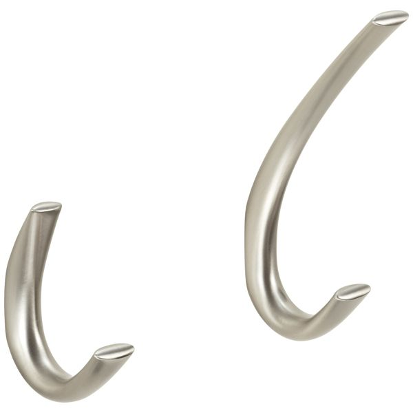 Stainless Symphony Single Wall Hooks The Container Store Wall