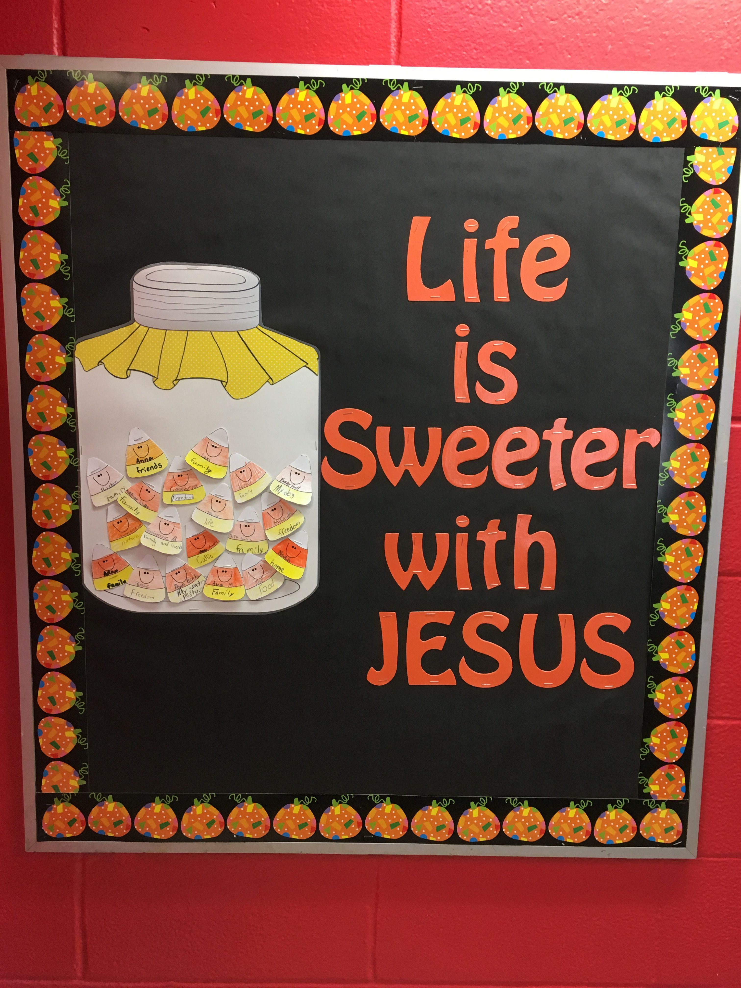 Christian Fall Bulletin Board Boards