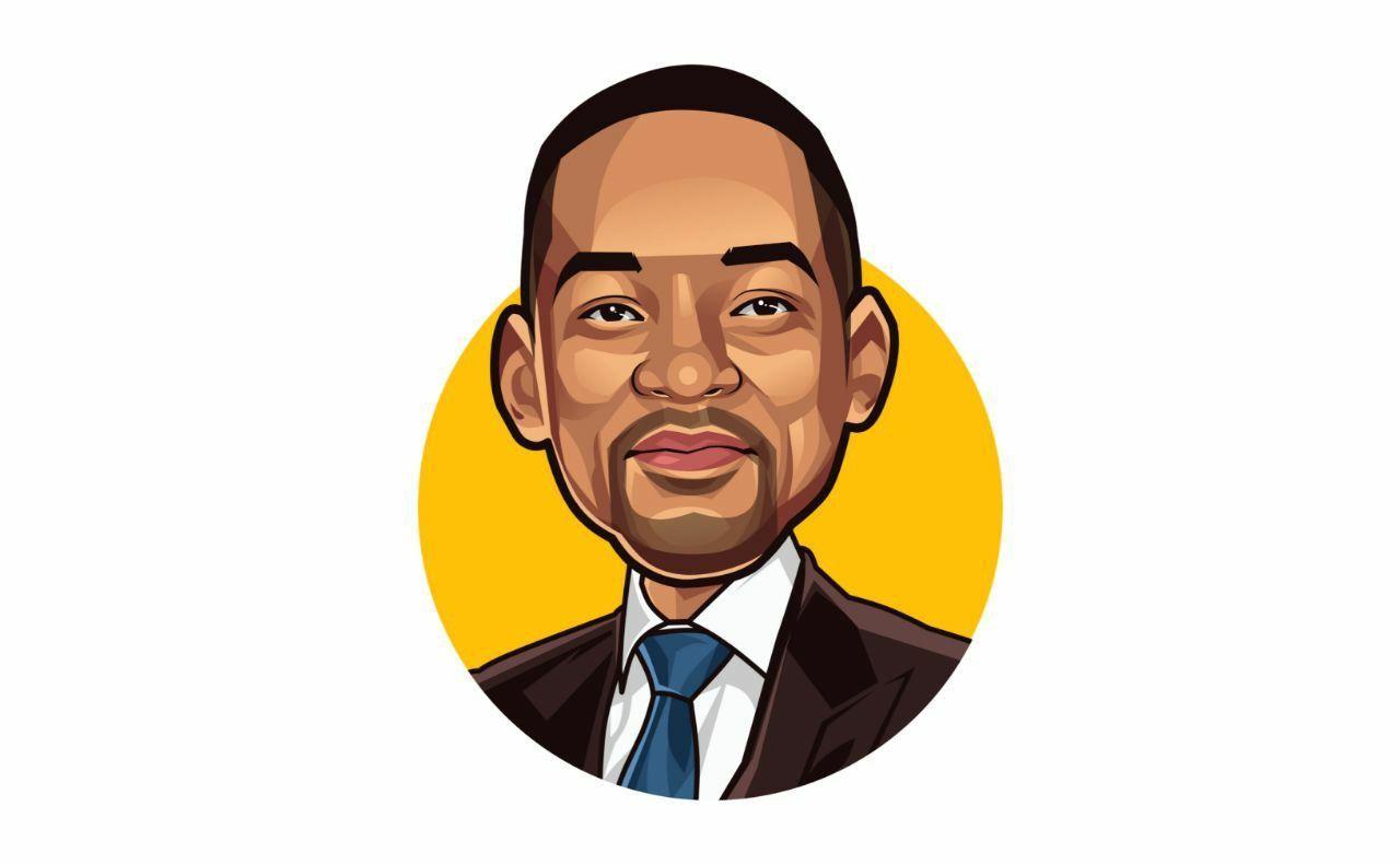 Cartoon logo cartoon portrait vector art social media