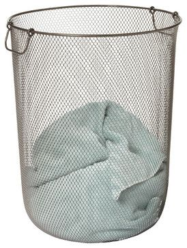 Industrial Mesh Hamper From The Container Store I Want One For All