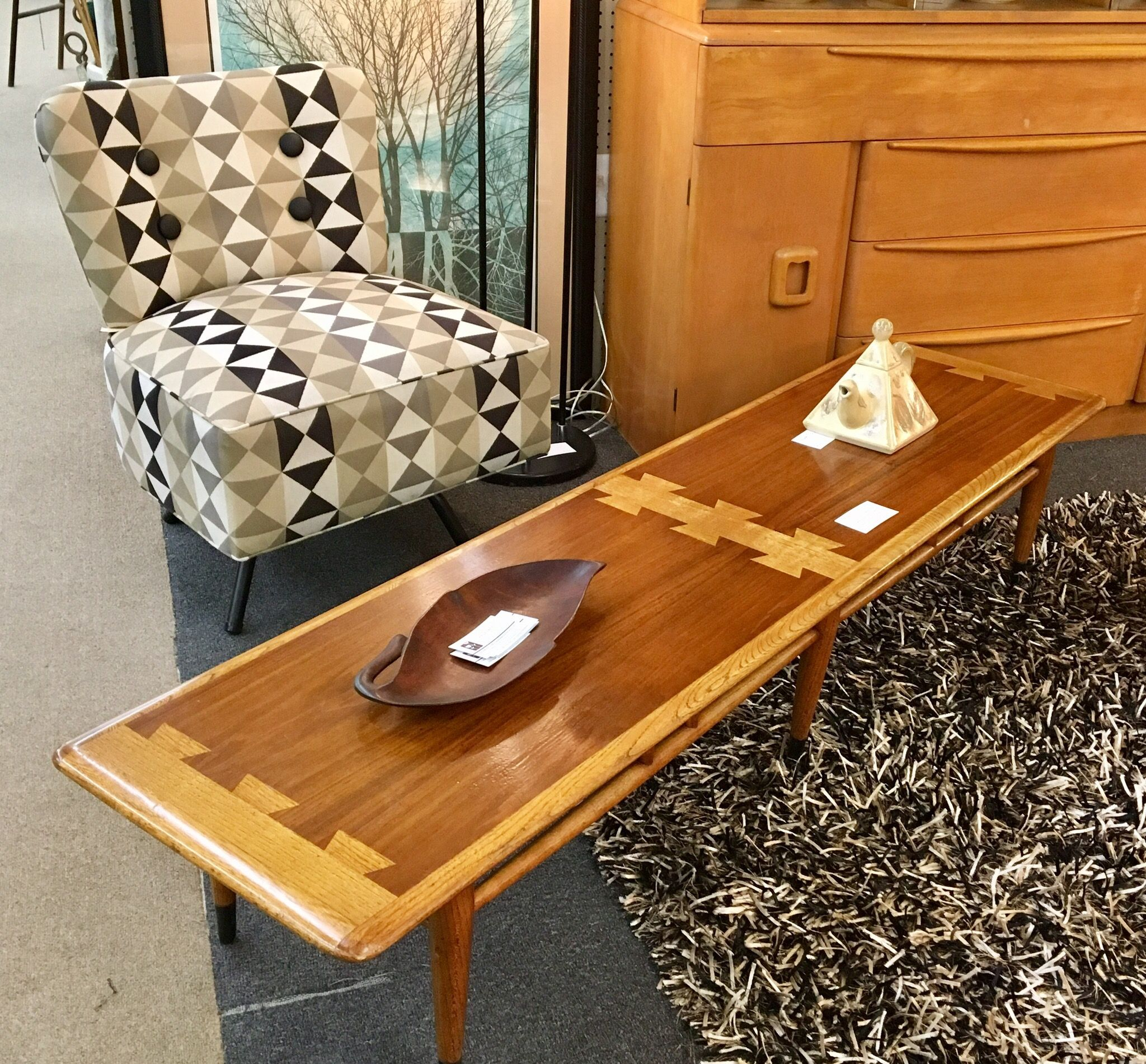 Lane Acclaim at TEEGEEBEE midcentury in Richmond Virginia
