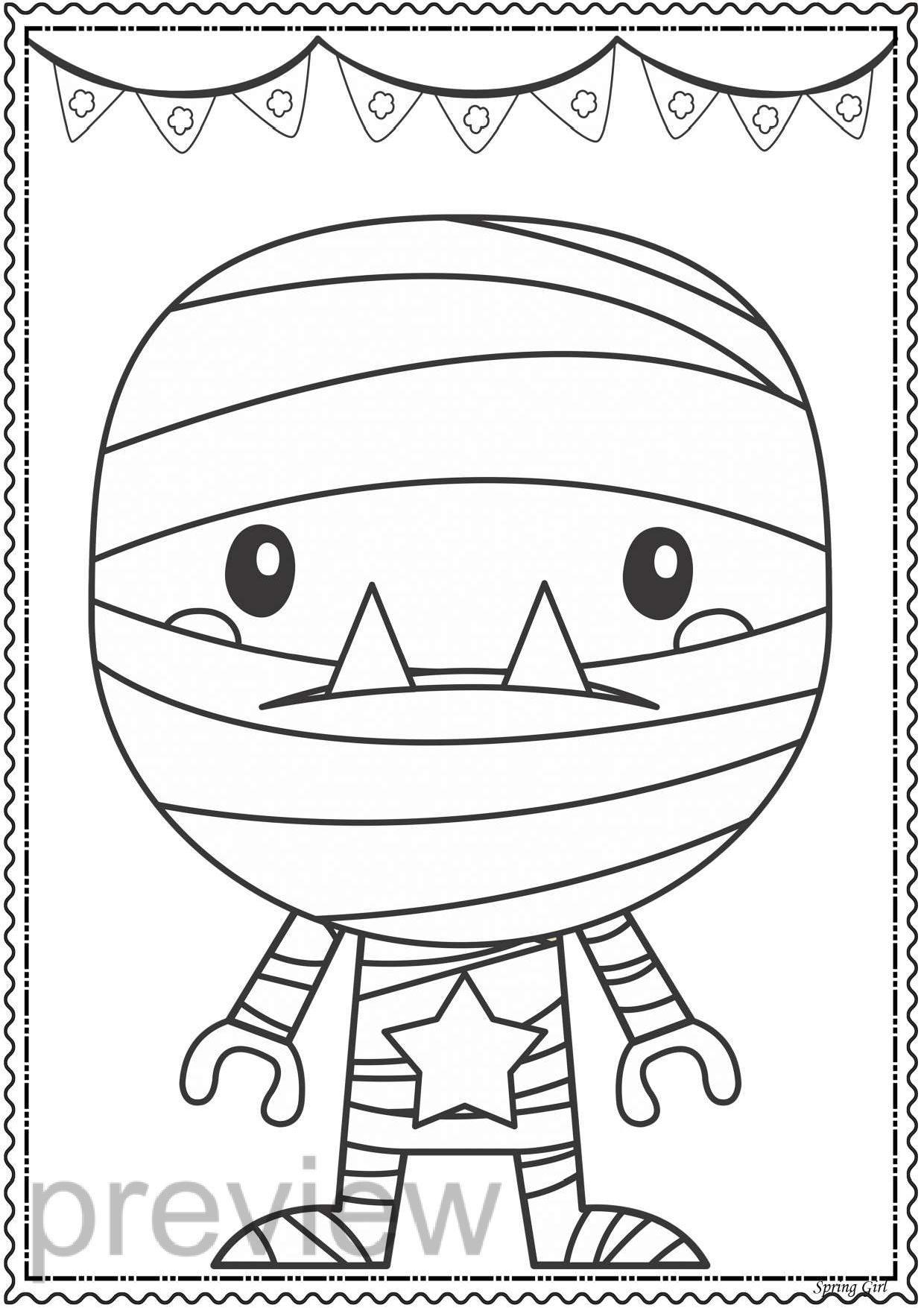 Halloween Coloring Pages Coloring Bookmarks Coloring Pages Halloween Coloring