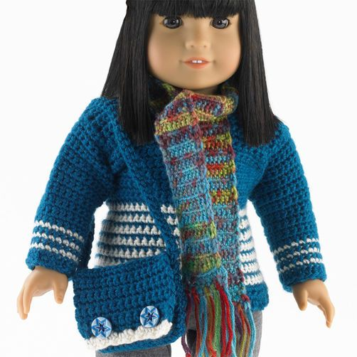 """Knit and Crochet Accessories for 18"""" (46cm) Doll"""