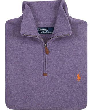 e420b43da Polo Ralph Lauren French Rib Half-Zip Pullover SIZE SMALL OR XS any color