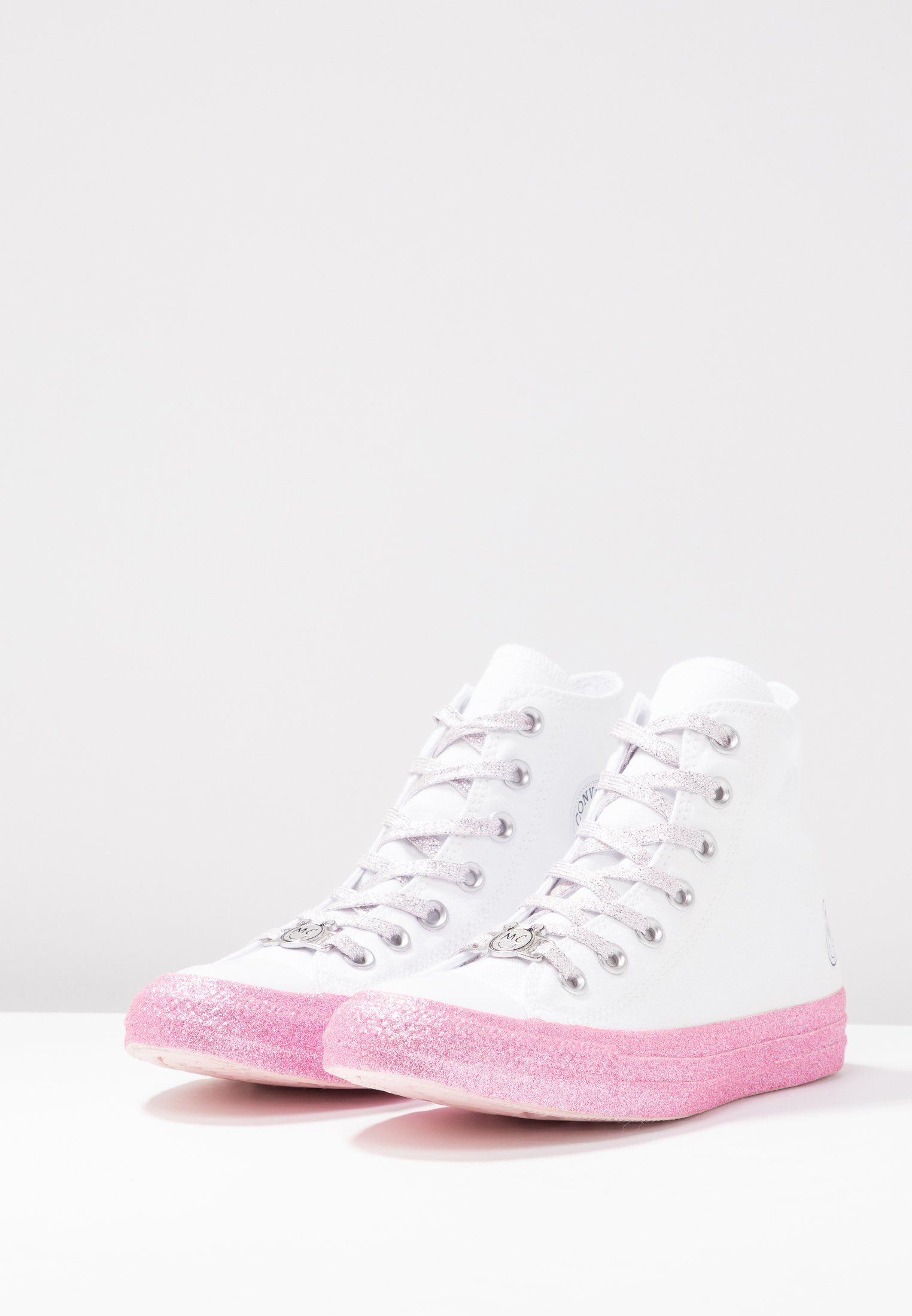 d4b25484bcd Converse CONVERSE X MILEY CYRUS CHUCK TAYLOR ALL STAR TOP - Zapatillas altas  - white