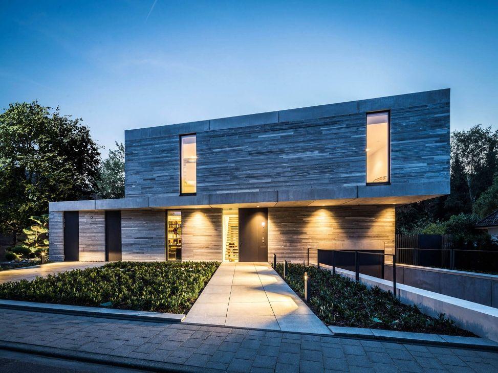 Carport Köln moderne häuser wohnhaus köln hahnwald corneille uedingslohmann