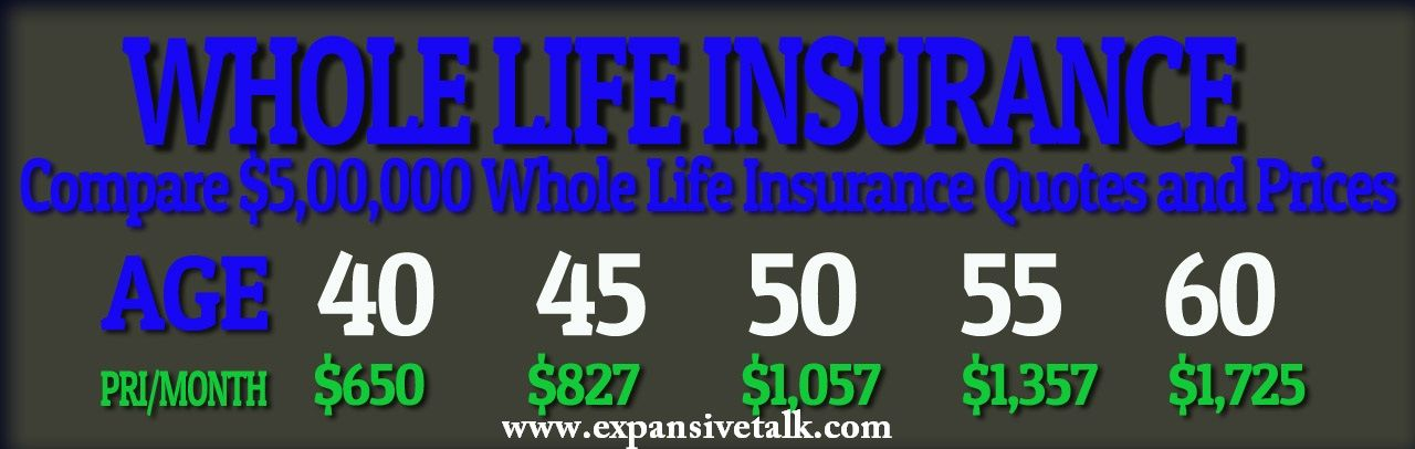 Whole Life Insurance Policy Whole Life Insurance Quotes Life