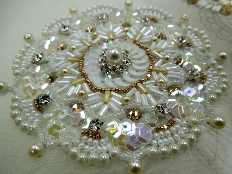 Pin De Lavona Marner En Bead Embroidery 8 Tutorial De