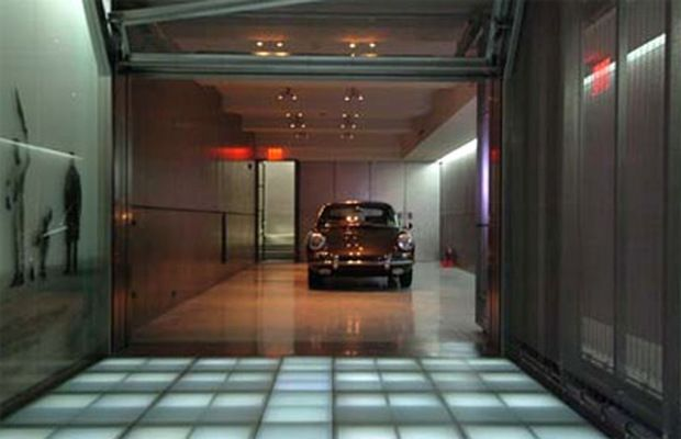 Inside Jerry Seinfeld S Super Secret Manhattan Garage Luxury Garage Modern Garage Garage Makeover