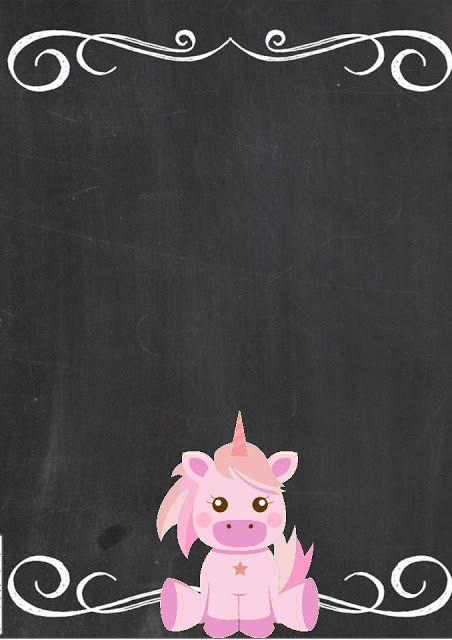 Invitation Unicorn Birthday Invitations Birthday Party