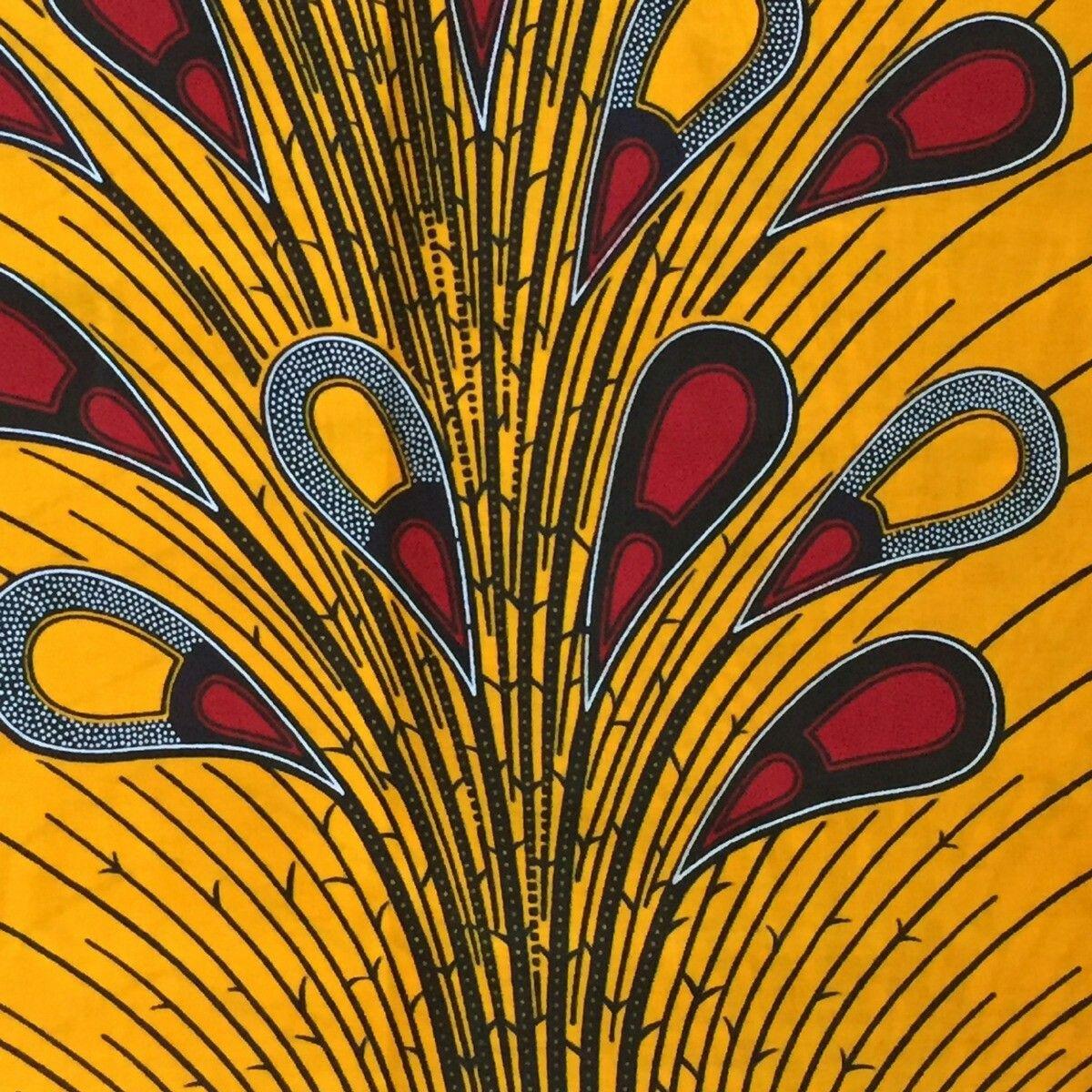 tissu africain graphique
