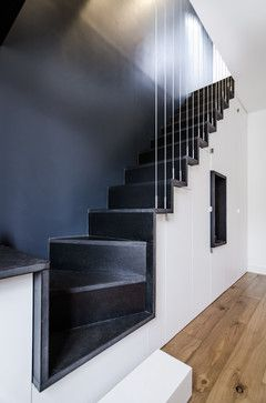 Duplex à Paris - contemporain - Escalier - Other Metro - Atelier mep ...