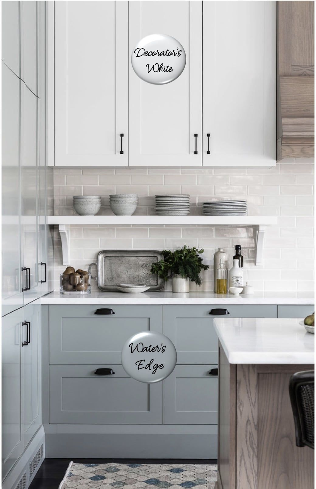 20 Cabinet Paint Color Combos For The Kitchen Kitchen Cabinets Color Combination Kitchen Cabinets Painted Kitchen Cabinets Colors