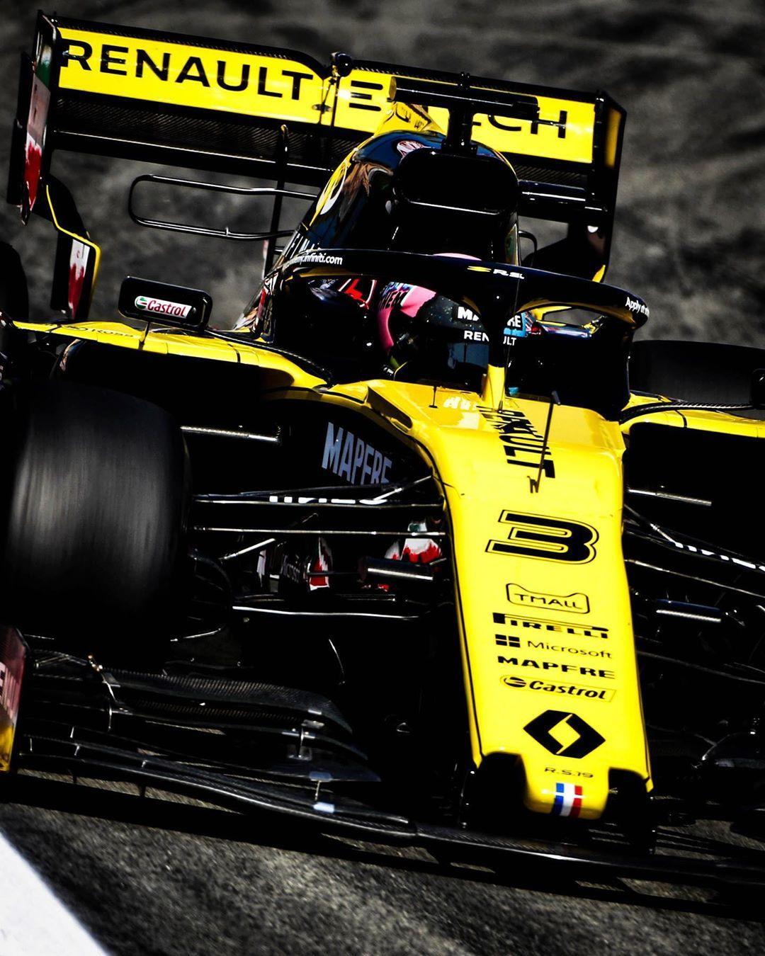 "Renault F1 Team On Instagram: ""Daniel Ricciardo"