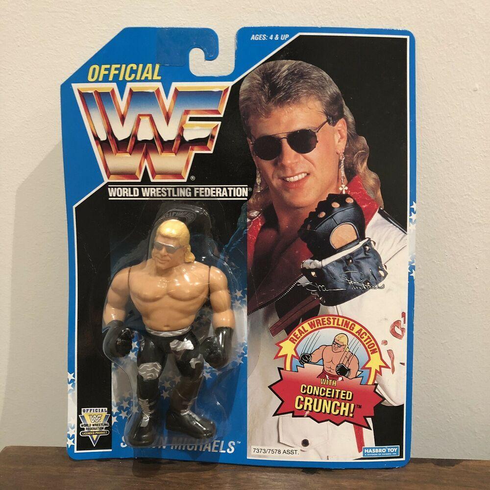 Rétro WWE série 5-Série complète de 4 Mattel Jouet Wrestling Action Figures