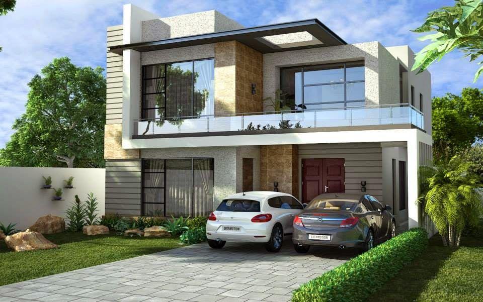One Kanal House Design ~ 3D Front DesignBlog, front design of ...