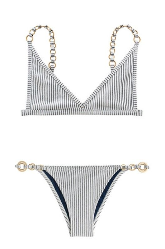 11 It-Girl Swimsuit Brands You Need To Know About.... we love this Linx top and bottom from swimwear by Dawn