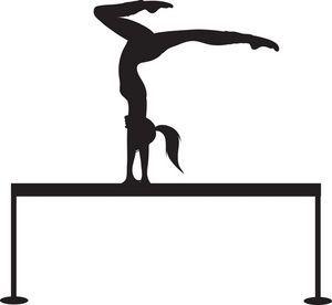 gymnast clip art designs pinterest gymnasts clip art and cricut rh pinterest com gymnastics clipart black and white gymnast clip art free