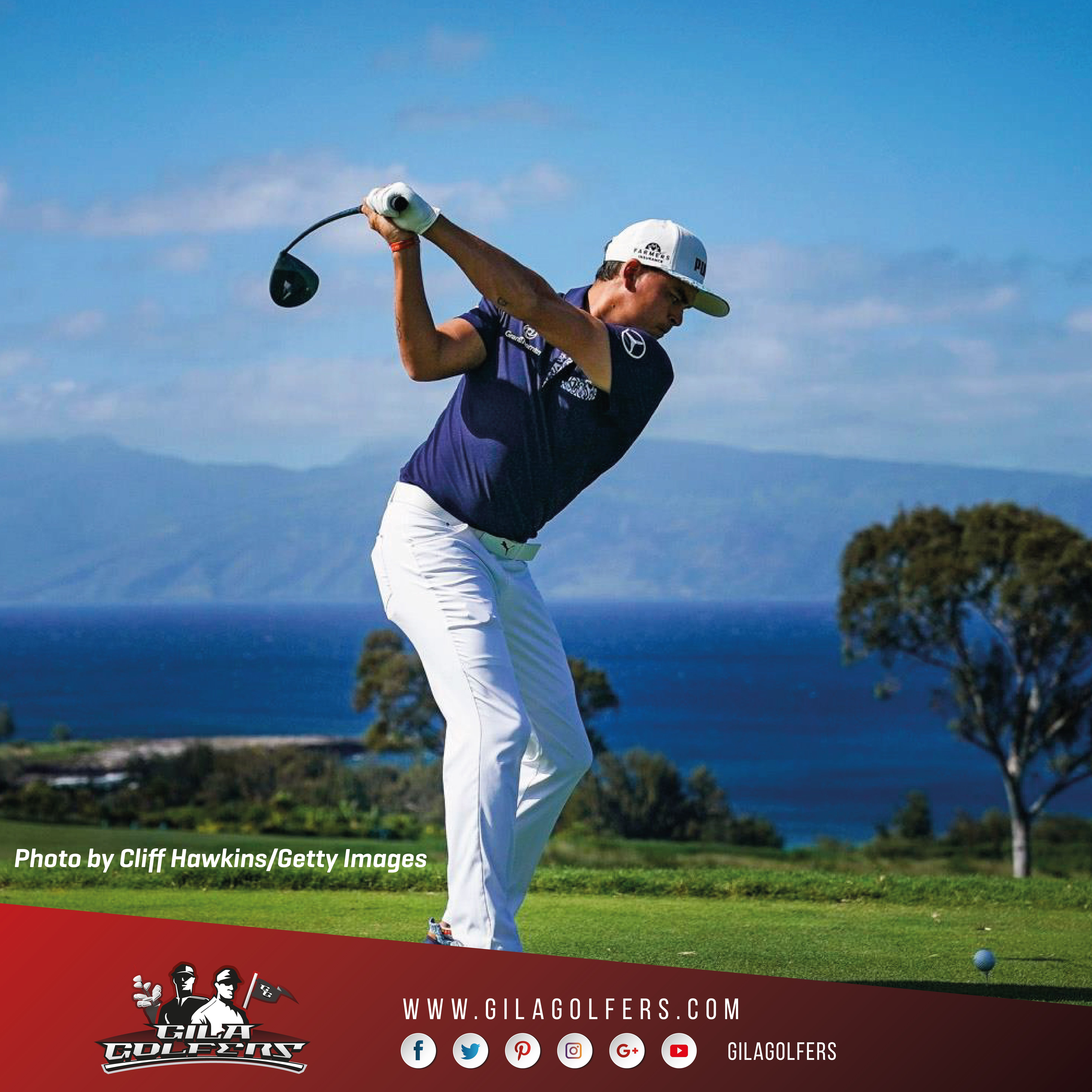Sentry Tournament of Champions, Round 2 #rickiefowler #sentrytoc #pumagolf #pgatour #alohacollection now available at #mstgolf stores. To know more about the Aloha collection #GilaGolfers PGA TOUR