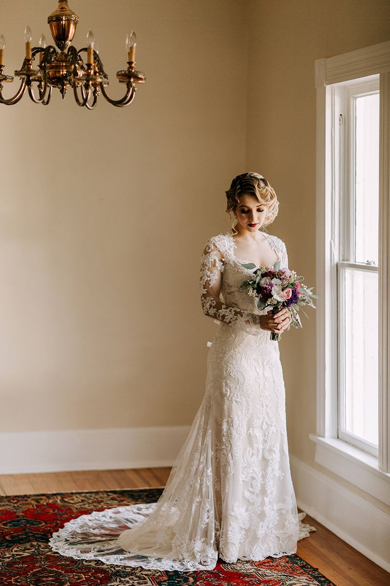 Vintage wedding styled shoot inspiration featuring style l long