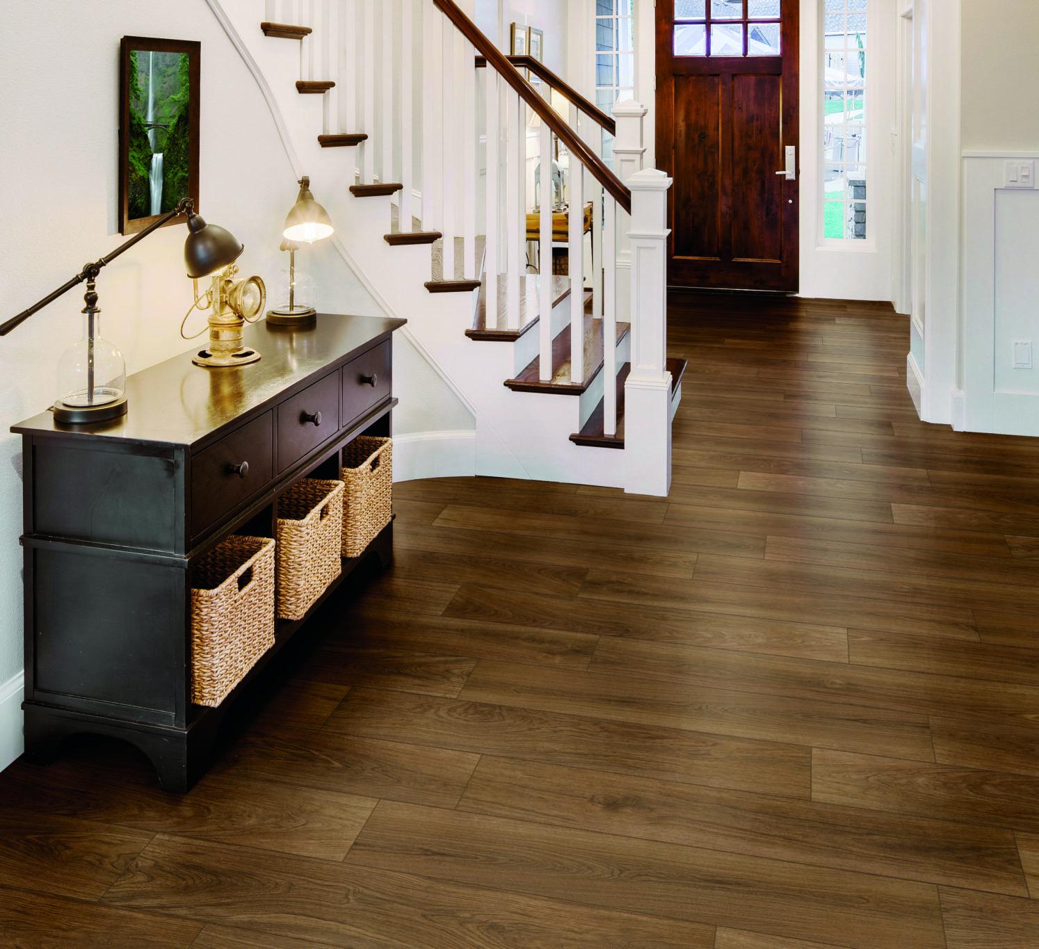 Entry Foyer Homecoming Wood Look Tile Floor Tile Design Wood Tile Floors