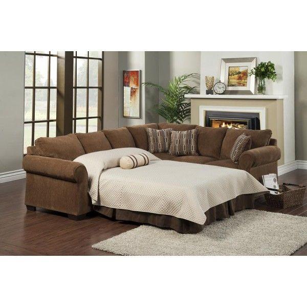 United furniture malinda 2 piece sofa sleeper sectional for Piece of living room decor