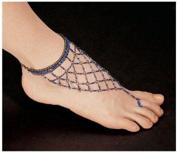 0e6fd750f687e Amazon.com: Egyptian Blue Nile Isis Slave Anklet/Slave Ankle ...