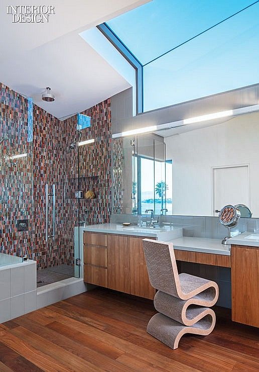 2013 BOY Winner Kitchen/Bath Skylights, Design and Magazines - Design Bathroom