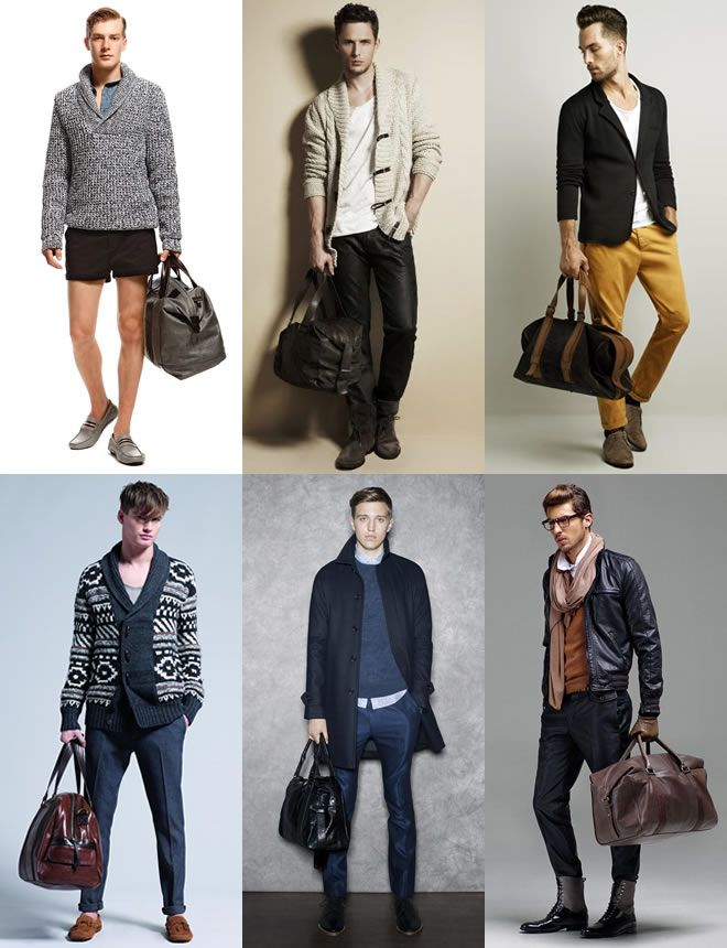 How to wear holdall bag for men | Men's Bag - Holdall | Pinterest ...