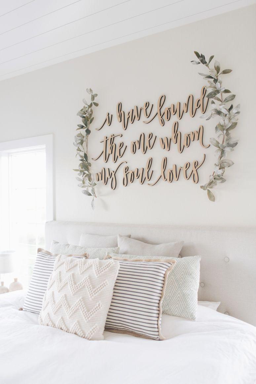 Bedroom interior wall decoration master bedroom wall decor walldecorideascreative  home sweet home