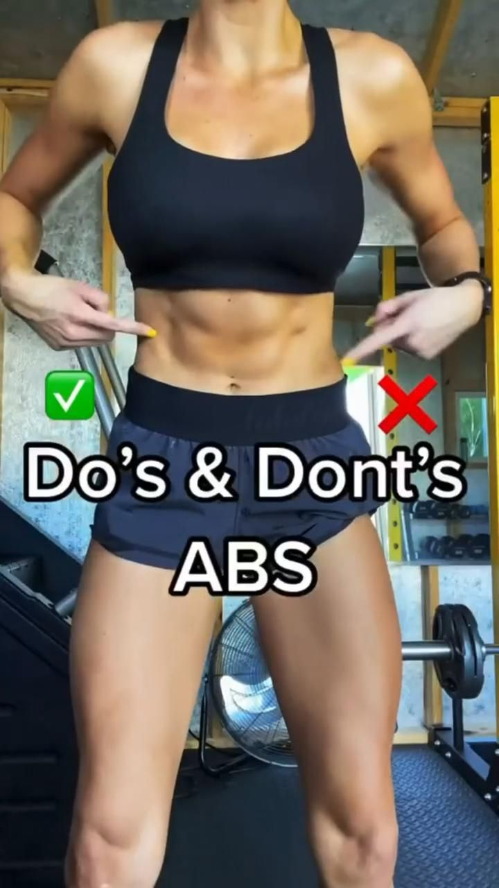 ABS!!! ✅Do's & Dont's ❌