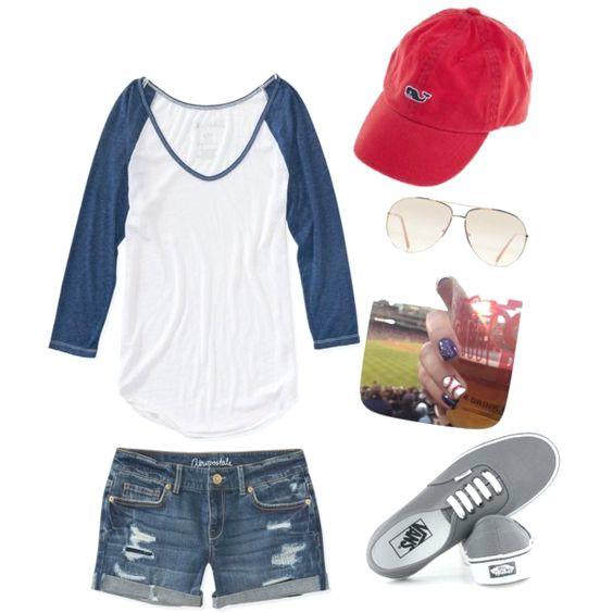 9 niedliche Outfits für ein Baseballspiel-Datum