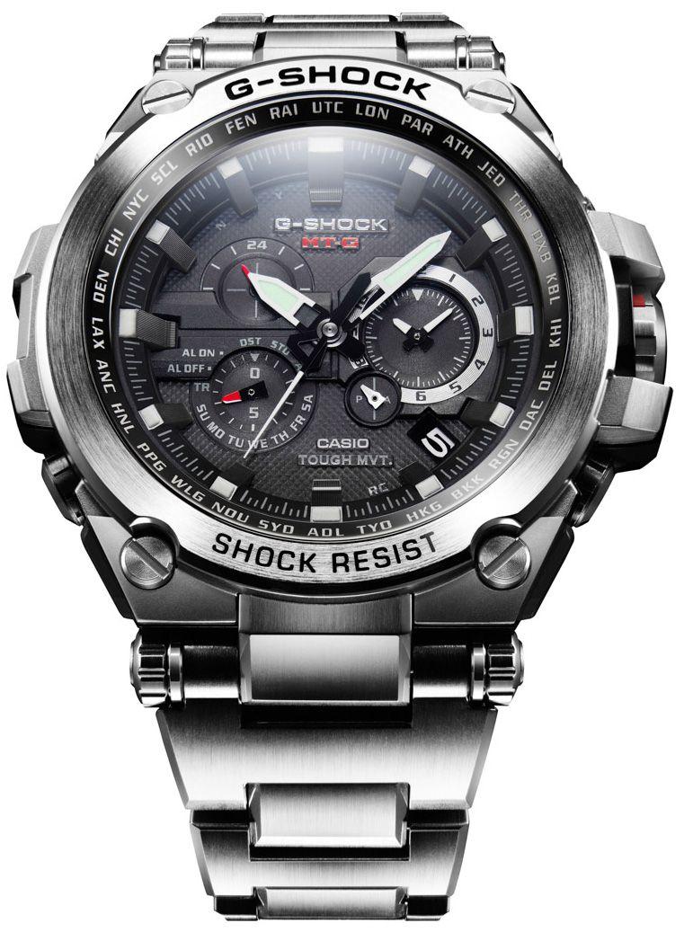6e27c91c4d2 G-Shock MTGS-1000D-1ACR Limited Edition Metal -Silver