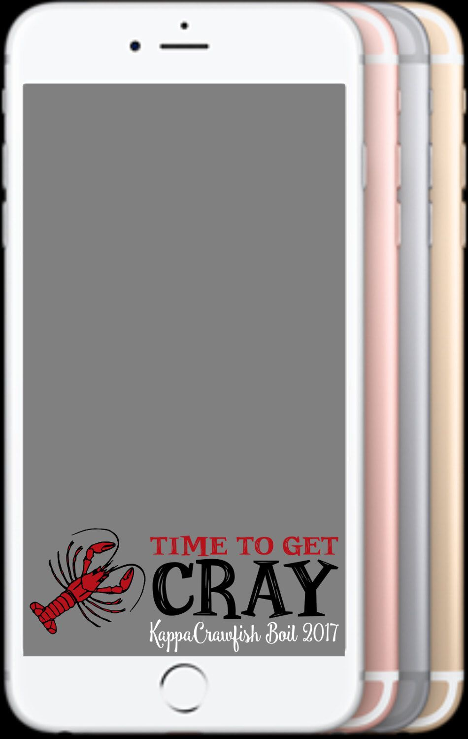 custom event crawfish boils sorority fraternity birthday day reunion snapchat geofilter time to [ 950 x 1500 Pixel ]
