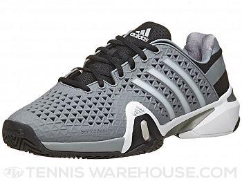 adidas Barricade 8+ Grey/Silver Men's