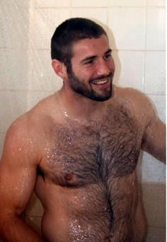Shower gay hairy guys images